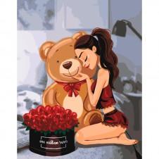 "Картины по номерам - ""One million roses"" (КНО4606)"