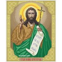 Схема для вышивания бисером Святой Иоанн Креститель