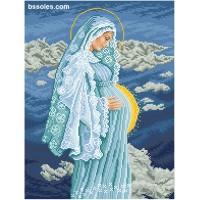 """Набор для вышивания """" Богонемовля в уторобі Діви Марії"""""""