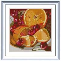 """Апельсин"" Рисунок на ткани"