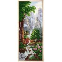 """""""Водопад """"Хрустальный кулон"""" Рисунок на ткани"""