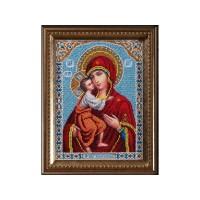 Набор для вышивания бисером  Богородица Федоровская