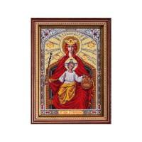 Набор для вышивания бисером Богородица Державная