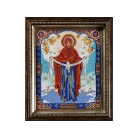Набор для вышивания бисером Богородица Покрова