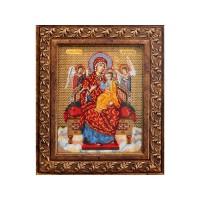 Набор для вышивания бисером Богородица Всецарица