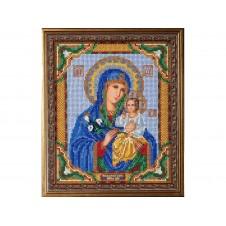 Набор для вышивания бисером Богородица Неувядаемый Цвет