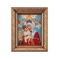 Набор для вышивания бисером Богородица Милующая
