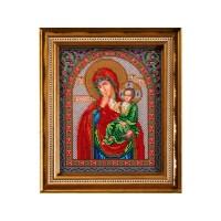 Набор для вышивания бисером Богородица Отрада и Утешение