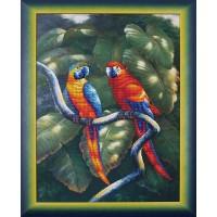 """схема для вышивания бисером """"Краски джунглей"""""""