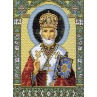 """Рисунок на ткани """"Святой Николай Чудотворец"""""""