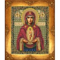"""Набор для вышивки бисером """"Богородица Албазинская"""
