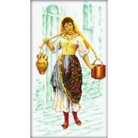 """Набор для вышивания нитками """"Несущая весеннюю воду"""""""