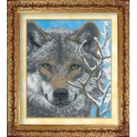 """Набор для вышивания бисером """"Волк"""""""