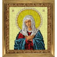 """Схема для вышивания бисером  """"Богородица Умиления"""""""
