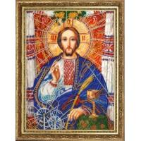 """Набор для вышивания бисером """"Христос Спаситель (по картине А. Охапкина)"""""""