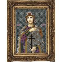 Вышивка бисером Икона Святой Глеб