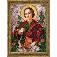 """Набор для вышивания бисером  """"Св. Пантелеймон (по картине А. Охапкина)"""""""