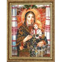 """Набор для вышивания бисером """"Богородица с Иисусом Христом (по картине А. Охапкина)"""""""