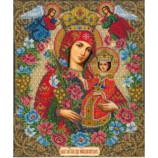 """Набор для вышивки бисером """"Богородица Неувядаемый цвет"""""""