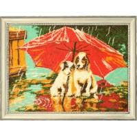 """Набор для вышивания бисером """"Зонтик на двоих"""""""