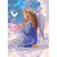 """Схема для вышивания бисером """"Молитва ангела"""""""