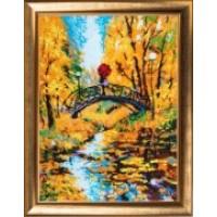 """Набор для вышивания бисером """"Осенний мостик"""""""