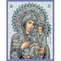 """Набор для вышивания бисером """"Богородица Тихвинская"""""""