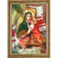 """Набор для вышивания бисером """"Богородица - Заступница (по картине А. Охапкина)"""""""