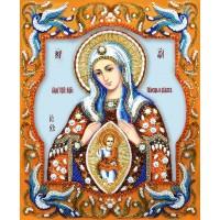 Набор для вышивания бисером  Богородица «Помощница в родах»