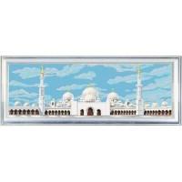 """Мечеть Шейха Заида"" Рисунок на ткани"