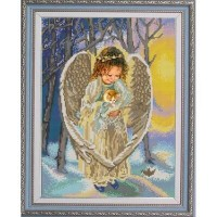 """""""Ангел"""" Рисунок на ткани"""
