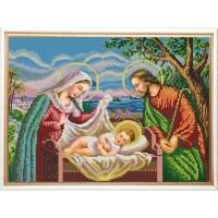 """""""Святое семейство"""" Рисунок на ткани"""