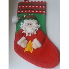"""Новогодний носок """"Дед Мороз"""""""