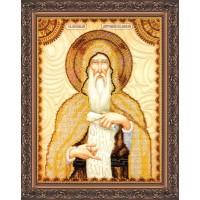"""Рисунок на ткани для вышивания бисером """"""""Святой Антоний"""""""