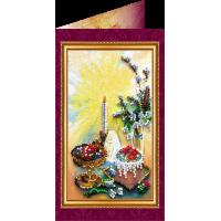 Набор для вышивки бисером «Открытка» Пасхальный сюжет-4