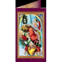 Набор для вышивки бисером «Открытка» Гостинцы-1