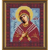 """Набор для вышивания бисером """"Богородица Семистрельная"""""""