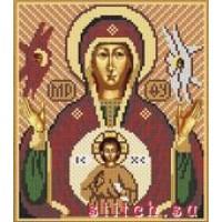 """Набор для вышивания бисером """"Богородица Знамения"""""""