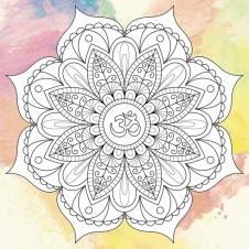 Дзен рисование Мандала душевного спокойствия. Антистресс раскраска (DZ521/530)