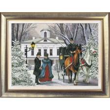 """Набор для вышивания крестиком """"Времена года. Зима"""""""