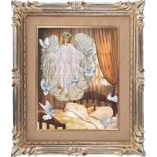 """Набор для вышивания крестиком """"Ангел сна"""""""