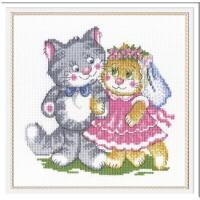 """Набор для вышивания крестиком """"Свадьба"""" Петр и Февронья"""