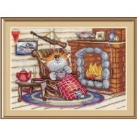 """Набор для вышивания крестиком """"Уютный вечер"""""""