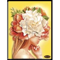 """папертоль """"Девушки цветы. Солнце""""."""