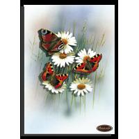 """папертоль """"Бабочки ромашки""""."""