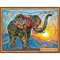 """Набор для вышивания бисером """"Мозаичный слон"""""""