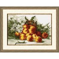 """Набор для вышивания крестом """"Сладкий персик"""""""