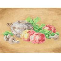 """Рисунок на ткани для вышивания бисером """"Италия"""""""