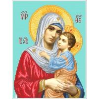 Схема бисером Богородица (намисна)