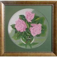 """Рисунок на канве для вышивания бисером """"Розы"""""""